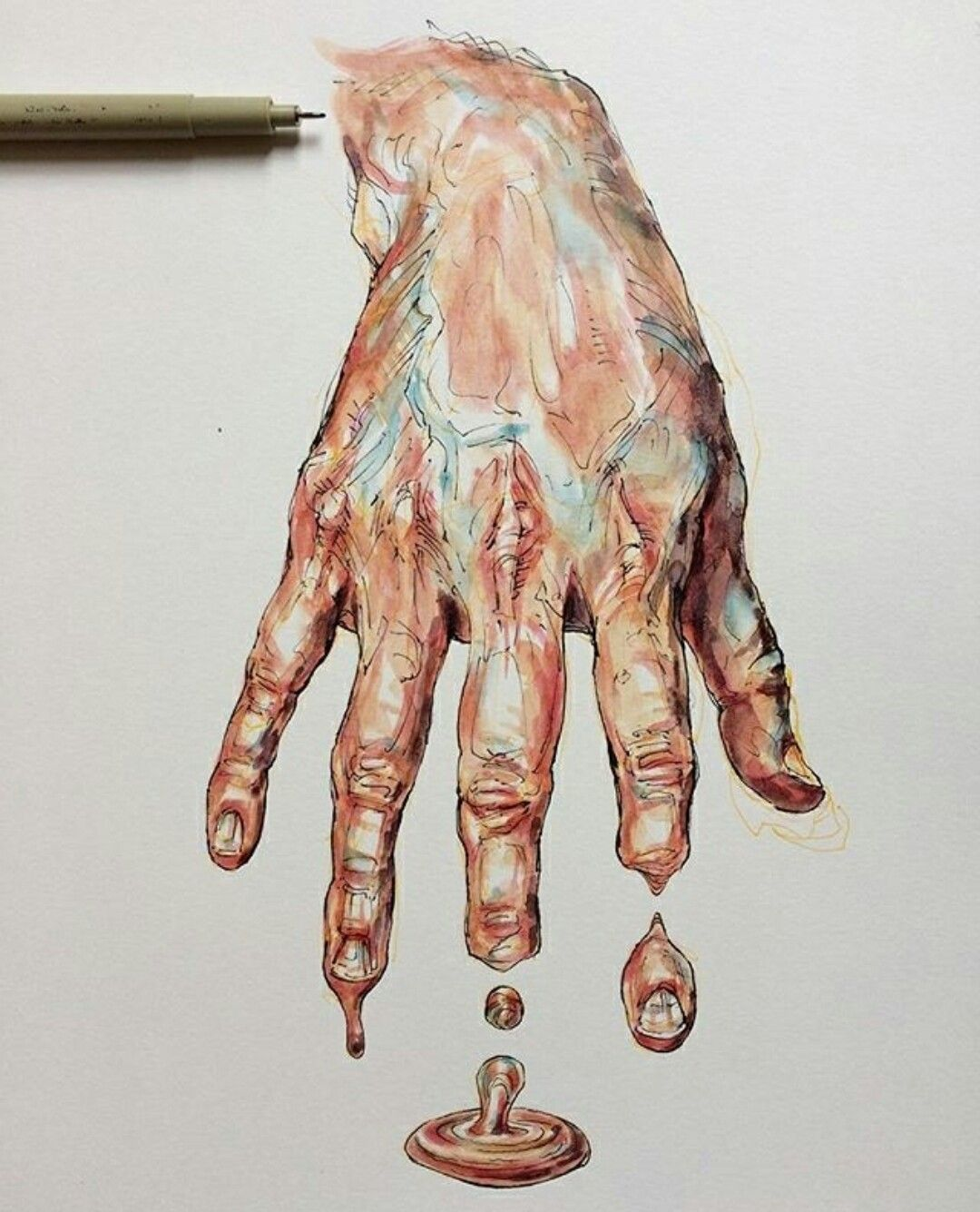 Un cuerpo | Ilustración: Noel Badges Pugh