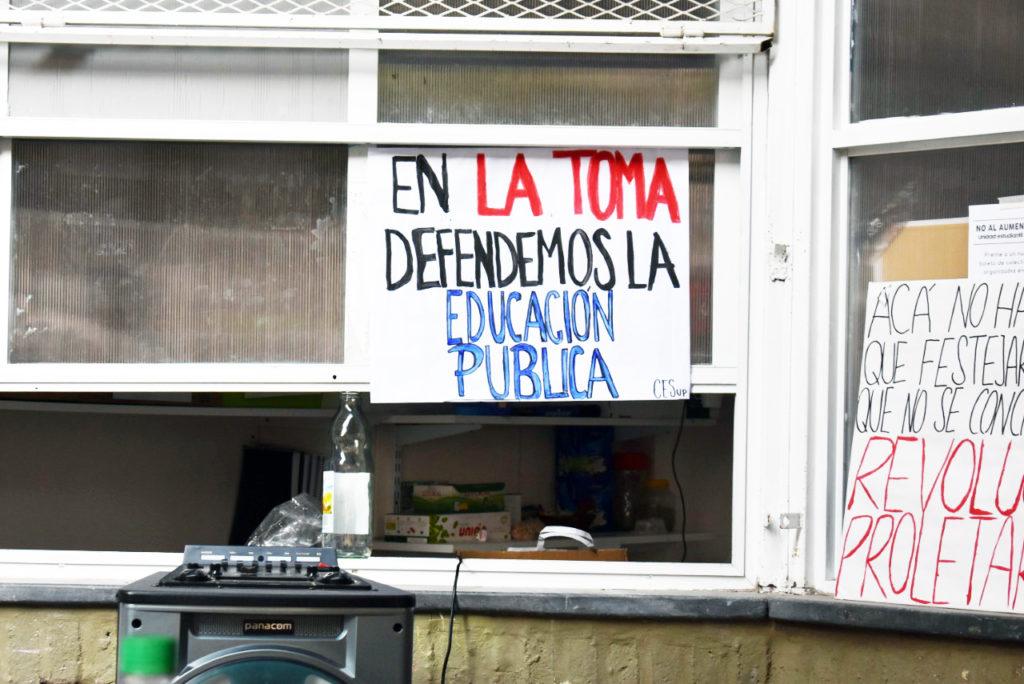 Foto: CESup (Centro de Estudiantes Superior de Comercio)