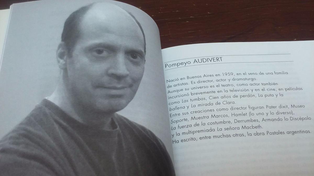 Pompeyo Audivert | Libro «Estudio Teatro»