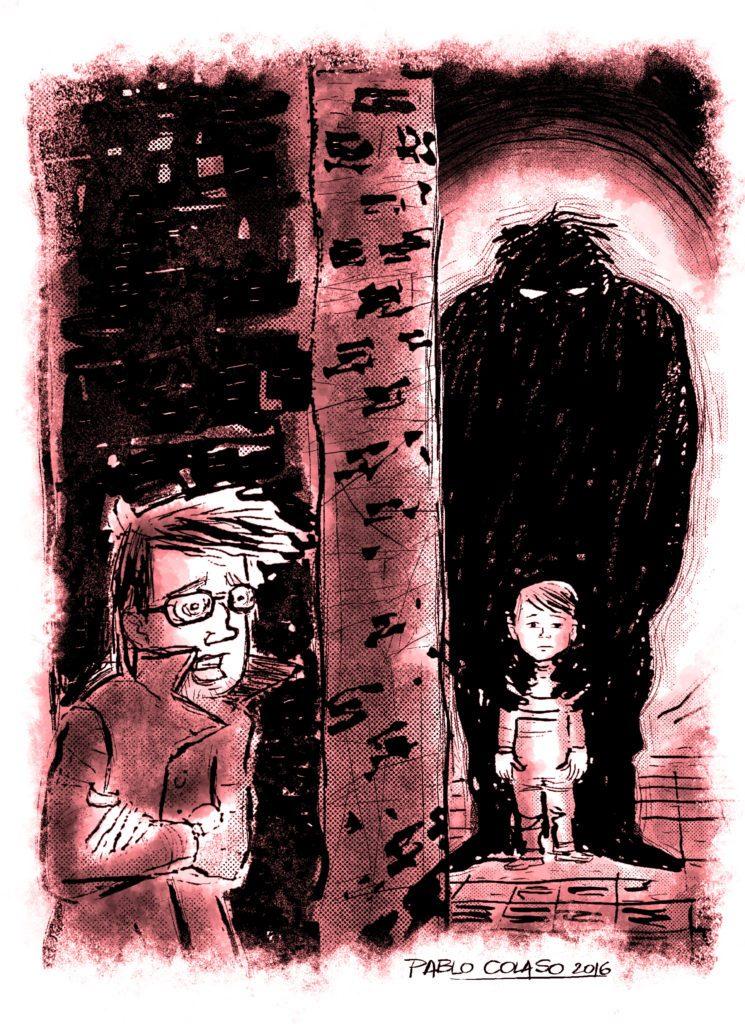 El asesinato del pasaje madariaga | Ilustra: Pablo Colaso